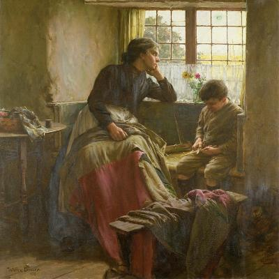 Tender Grace of a Day That Is Dead-Walter Langley-Giclee Print