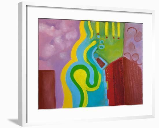 Tenderness of a Lightning, 2009-Jan Groneberg-Framed Giclee Print