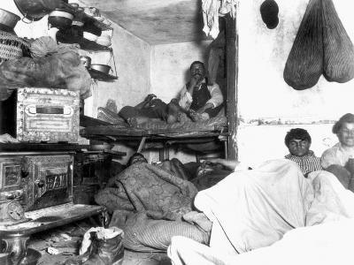 Tenement Life, Nyc, C1889-Jacob August Riis-Photographic Print