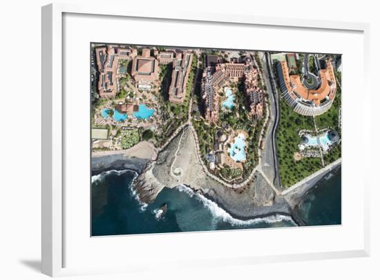 Tenerife, La Caleta, Playa De La Enramada, Costa Adeje, Volcano Coast-Frank Fleischmann-Framed Photographic Print