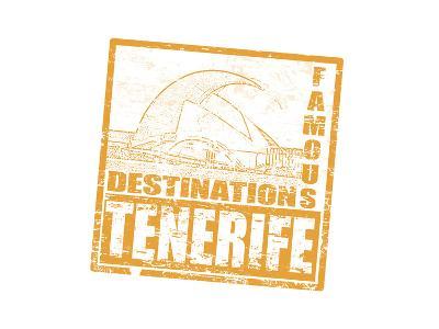 Tenerife Stamp-radubalint-Art Print