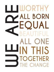 All Born Equal by Tenisha Proctor