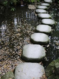 Tenjuan Wet Garden in Nanzen Ji Temple, Kyoto, Japan, Asia
