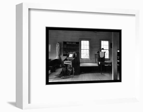 Tennessee Church Interior-Walker Evans-Framed Photo