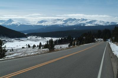 Tennessee Pass, a Mountain Road That Crosses the Continental Divide, Colorado, Usa-Natalie Tepper-Photo