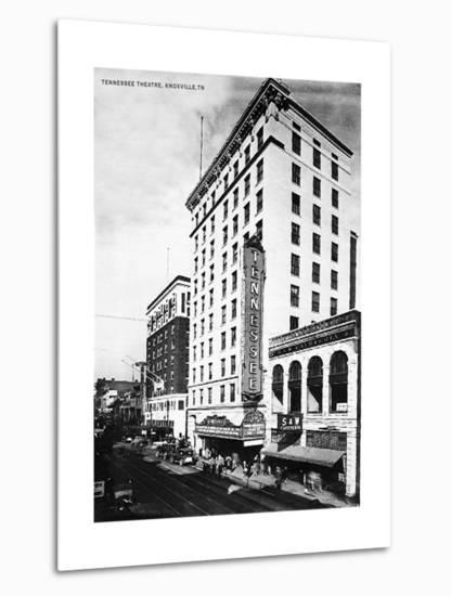 Tennessee Theater, Knoxville--Metal Print