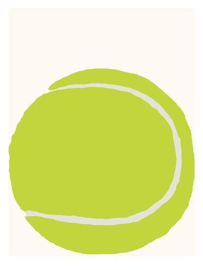 Tennis Ball-Jorey Hurley-Art Print