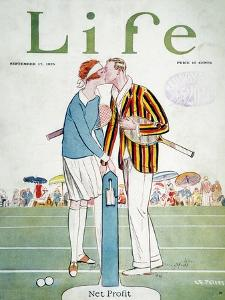 Tennis Court Romance, 1925