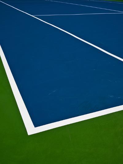 Tennis Court- photosquared-Photographic Print