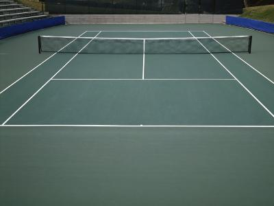 Tennis Court--Photographic Print