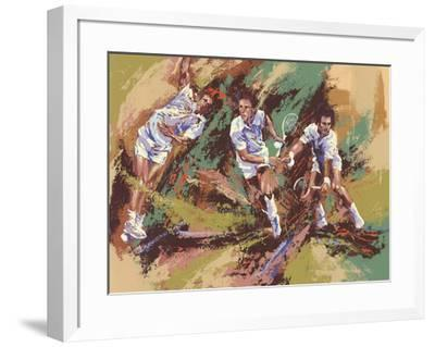 Tennis Legends-Wayland Moore-Framed Premium Edition