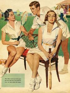 Tennis, Maudson, 1953, UK