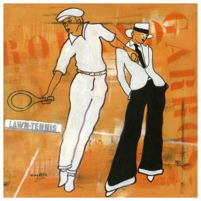 Tennis-Magassa-Art Print