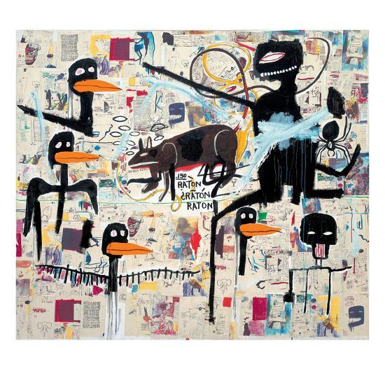 Tenor, 1985-Jean-Michel Basquiat-Giclee Print