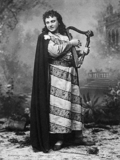 Tenor Dezso or Desider Matray in Role of Tannhauser in Homonymous Opera--Giclee Print
