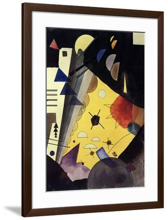 Tension in Height (No text)-Wassily Kandinsky-Framed Lithograph