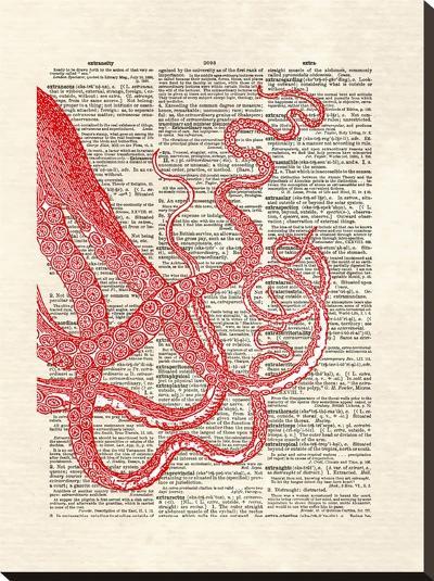 Tentacles-Matt Dinniman-Stretched Canvas Print