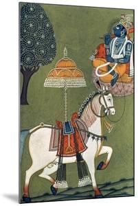 Tenth Incarnation of Vishnu as Kalki: the White Horse