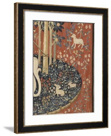 Tenture de la Dame à la Licorne : A mon seul désir--Framed Giclee Print