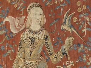 Tenture de la Dame à la Licorne : Le Goût