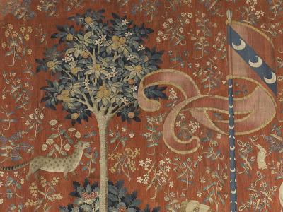 Tenture de la Dame à la Licorne : Le Goût--Giclee Print
