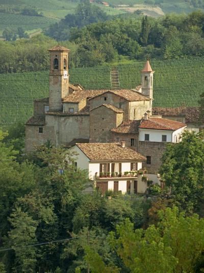 Tenuta La Volta, an Old Fortified Wine Cantina, Near Barolo, Piedmont, Italy, Europe-Newton Michael-Photographic Print
