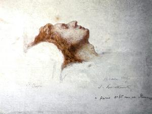 Dying Chopin by Teofil Kwiatkowsk
