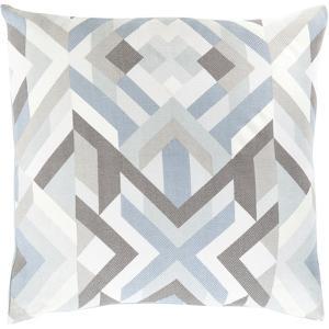 Teori Mosaic Poly Fill Pillow - Slate