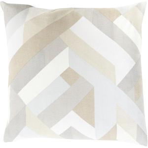 Teori Slats Poly Fill Pillow - Latte