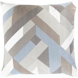 Teori Slats Poly Fill Pillow - Mocha
