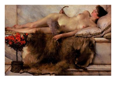 Tepidarium-Sir Lawrence Alma-Tadema-Art Print