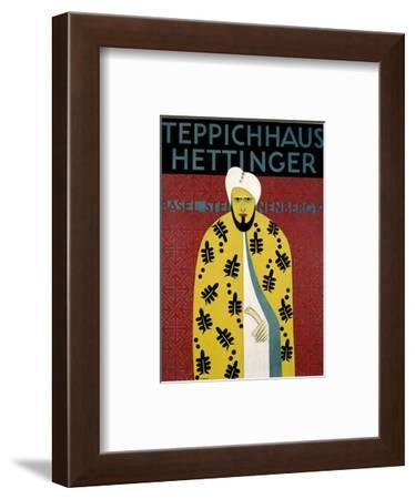 Teppichhaus Hettinger-Morach-Framed Art Print
