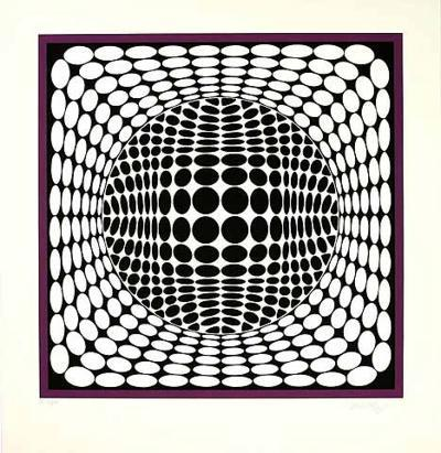 Ter Ur-Victor Vasarely-Limited Edition