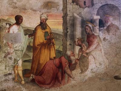 Adoration of the Magi, Fresco