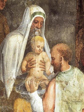 Circumcision, Fresco