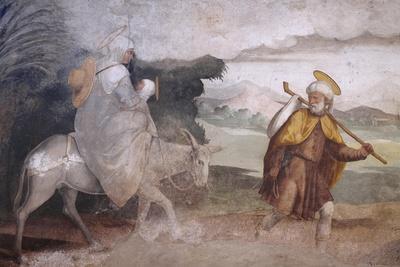Flight into Egypt, Fresco