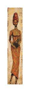 African Woman II by Terence Halley