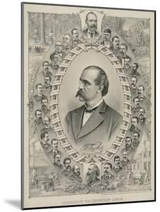 Terence Powderly and 32 Portraits of Leaders of the Knights of Labor, 1880s