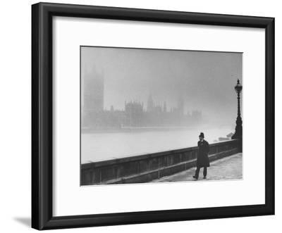 Patrolling Lambeth Bridge