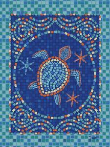 Macedonia Reef Turtle by Teresa Woo