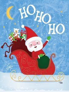 Santa Sleigh by Teresa Woo