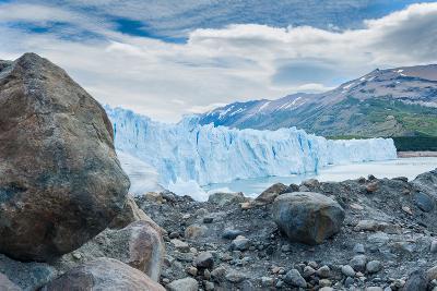 Terminal Face of the Perito Moreno Glacier, Patagonia, Argentina-James White-Photographic Print