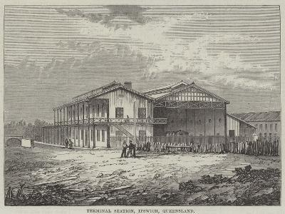 Terminal Station, Ipswich, Queensland--Giclee Print