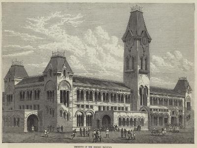Terminus of the Madras Railway--Giclee Print