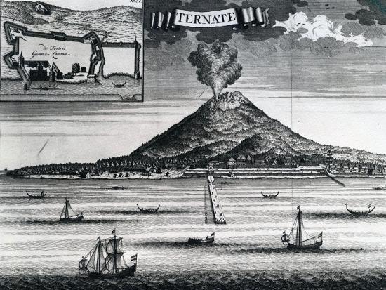 Ternate Island, Circa 1748--Giclee Print