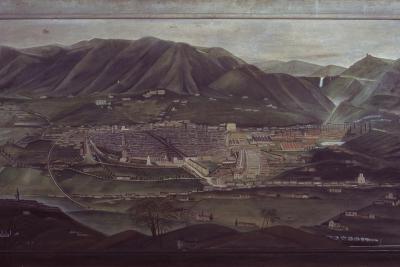 Terni Landscape-Orneore Metelli-Art Print