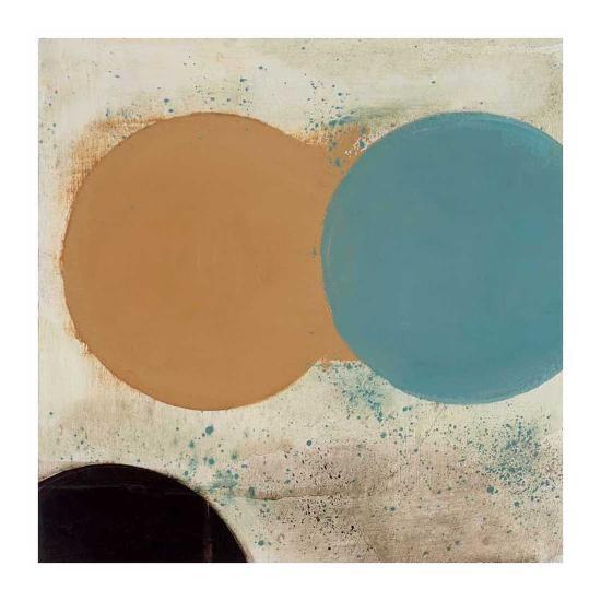 Terra Circles I-David Skinner-Art Print