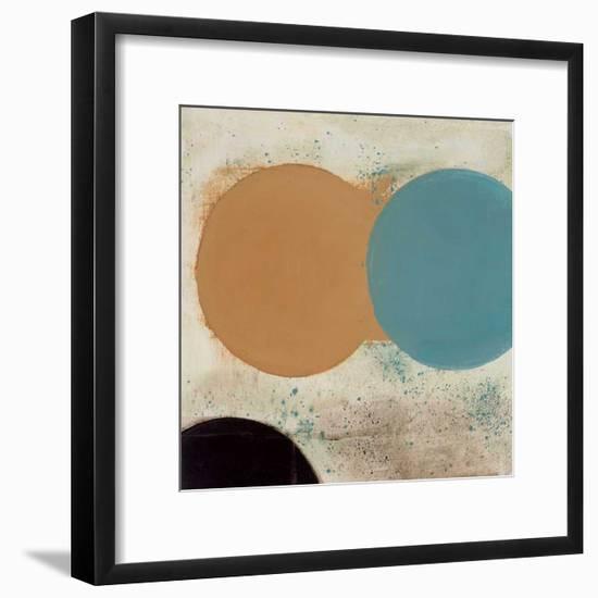 Terra Circles I-David Skinner-Framed Giclee Print