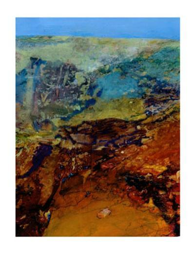 Terra Incognita II-Julian Corvin-Collectable Print