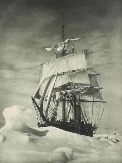 Terra Nova Icebound, British Antarctic Expedition, Circa 1910-Eugene Atget-Giclee Print